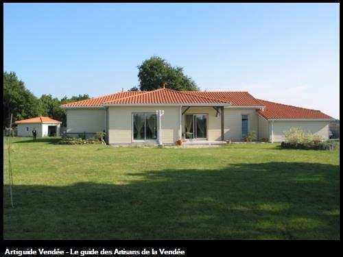 maison ossatures bois La Bernardière (85)